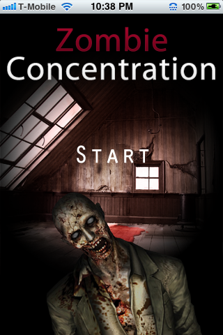 Screenshot zombie concentration