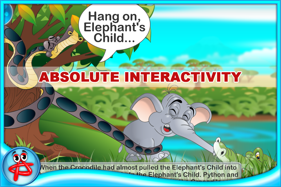 Screenshot The Elephant's Child